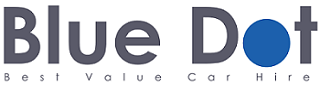 Blue Dot Car Hire Logo